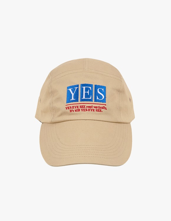 yeseyesee Camper Long Cap - Beige | HEIGHTS. | International Store