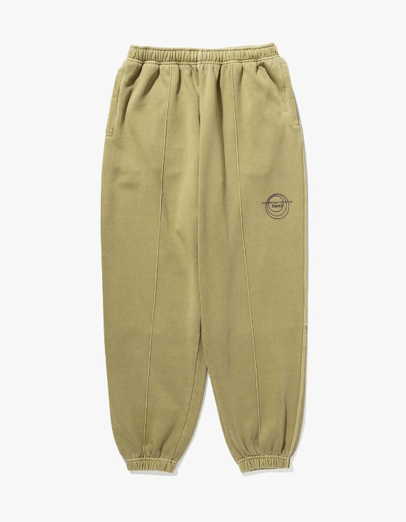 LMC LMC x FUZZ CIRCLE SWEAT PANTS olive | HEIGHTS. | International Store