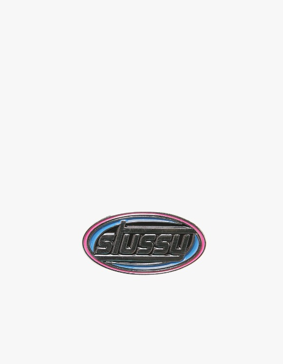 Stussy Oval Swirl Pin | HEIGHTS. | International Store