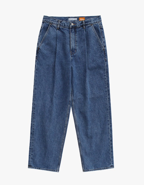 AYC 1 Tuck Wide Jeans Blue | HEIGHTS. | International Store