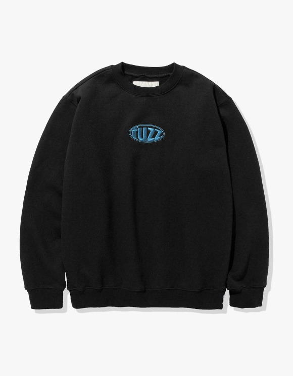 Fuzz FUZZ CIRCLE LOGO SWEATSHIRT black | HEIGHTS. | International Store