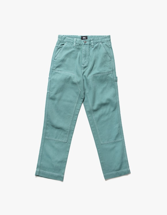 Stussy Over Dyed Work Pant - Mint | HEIGHTS. | International Store