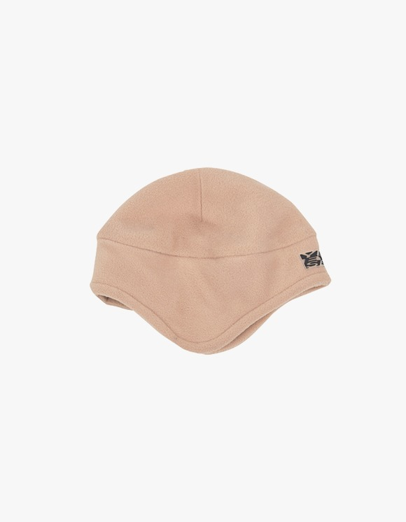 yeseyesee Y.E.S Fleece Earflap Beanie - Beige | HEIGHTS. | International Store