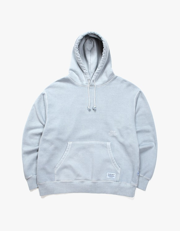 IZOLA NYC Over Dyed Hoodie - Powder Blue | HEIGHTS. | International Store