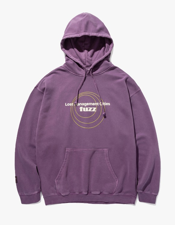 LMC LMC x FUZZ CIRCLE HOODIE purple | HEIGHTS. | International Store