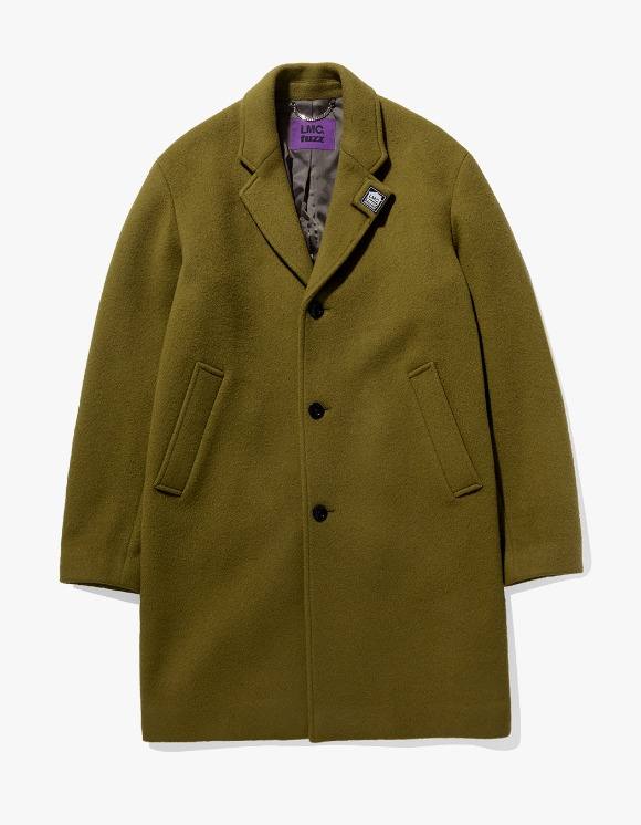 LMC LMC x FUZZ HOUSE SINGLE COAT olive | HEIGHTS. | International Store
