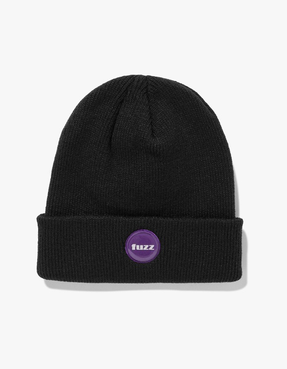 Fuzz FUZZ EPOXY LABEL BEANIE black | HEIGHTS. | International Store