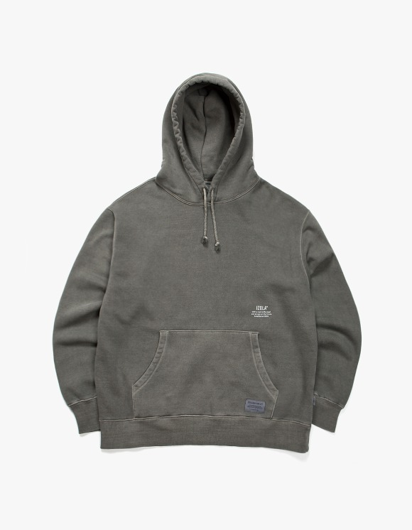 IZOLA NYC Over Dyed Hoodie - Charcoal | HEIGHTS. | International Store
