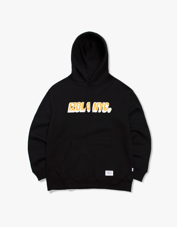IZOLA NYC 3D Logo Hoodie - Black | HEIGHTS. | International Store