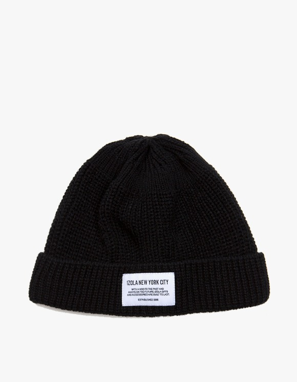 IZOLA NYC NYC Beanie - Navy | HEIGHTS. | International Store