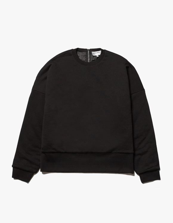 AECA WHITE Reversible Quilted Sweatshirt - Black | HEIGHTS. | International Store