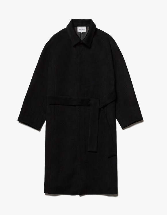 AECA WHITE Finale Long Coat - Black | HEIGHTS. | International Store