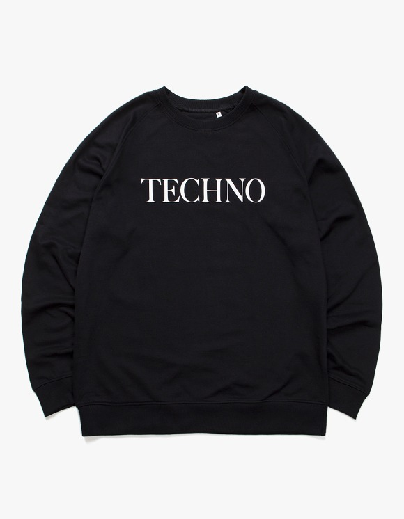 IDEA TECHNO Crewneck - Black | HEIGHTS. | International Store