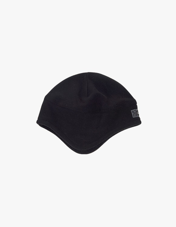 yeseyesee Y.E.S Fleece Earflap Beanie - Black | HEIGHTS. | International Store