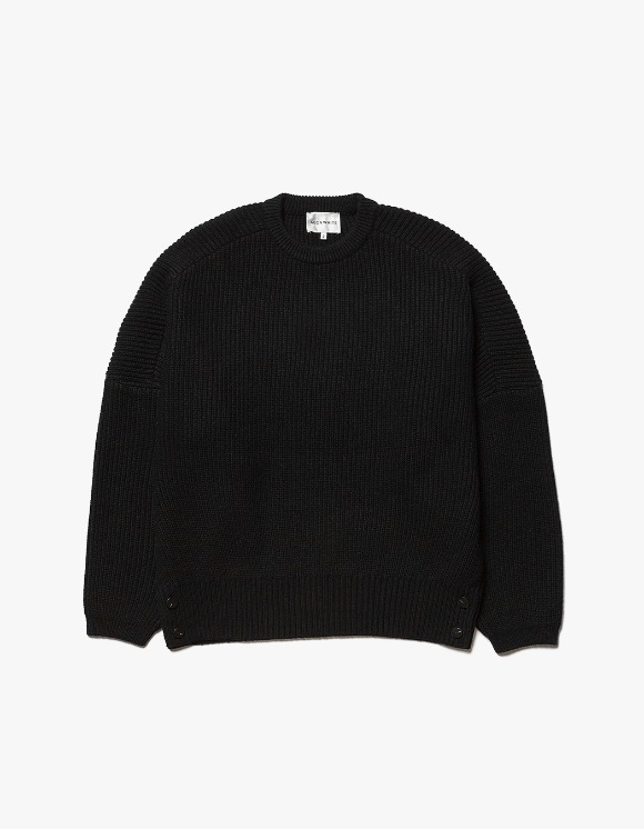 AECA WHITE Air Wool Oversize Knit - Black | HEIGHTS. | International Store