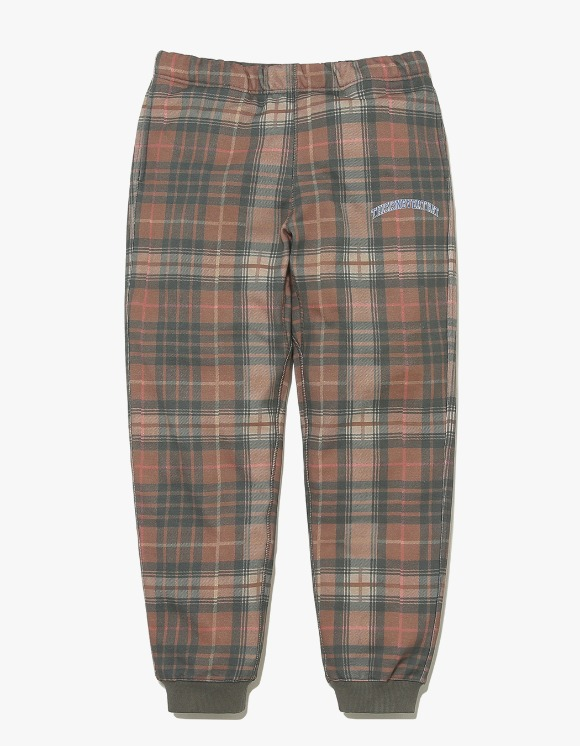 thisisneverthat D/P-Plaid Sweatpant - Brown | HEIGHTS. | International Store