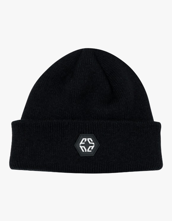 NIVELCRACK Logo Beanie - Black | HEIGHTS. | International Store