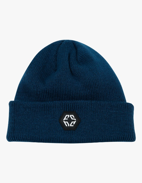 NIVELCRACK Logo Beanie - Navy | HEIGHTS. | International Store