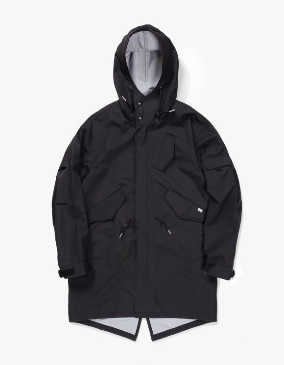 IZOLA NYC 3 Layer Mods Coat - Black | HEIGHTS. | International Store