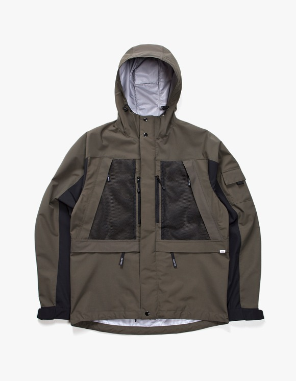IZOLA NYC 3 Layer Mountain Parka - Olive/Black | HEIGHTS. | International Store