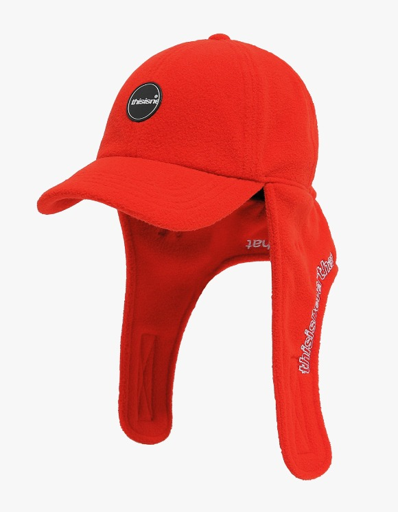 thisisneverthat Fleece Earflap Cap - Red | HEIGHTS. | International Store