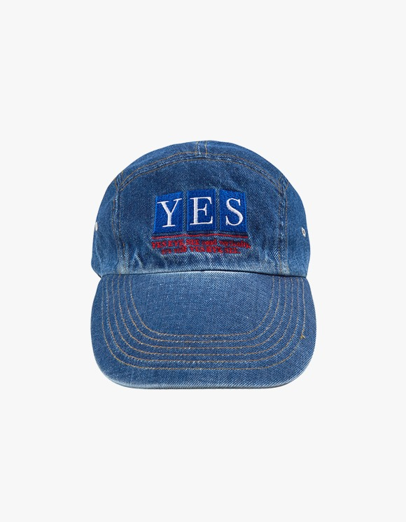 yeseyesee Camper Long Cap - Denim | HEIGHTS. | International Store
