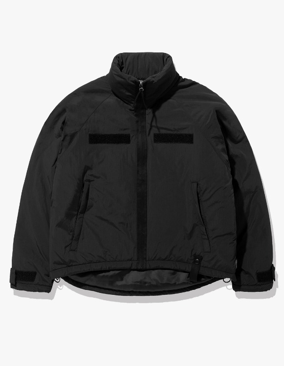 Fuzz FUZZ LEVEL7 SHORT PARKA black | HEIGHTS. | International Store