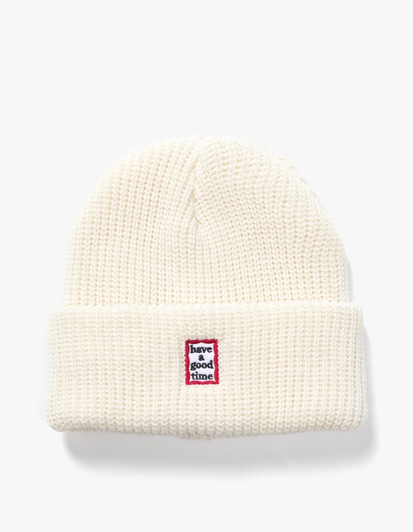 have a good time Mini Mini Frame Beanie - Cream | HEIGHTS. | International Store