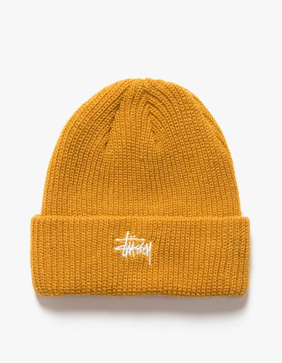 Stussy FA19 Basic Cuff Beanie - Murstard | HEIGHTS. | International Store