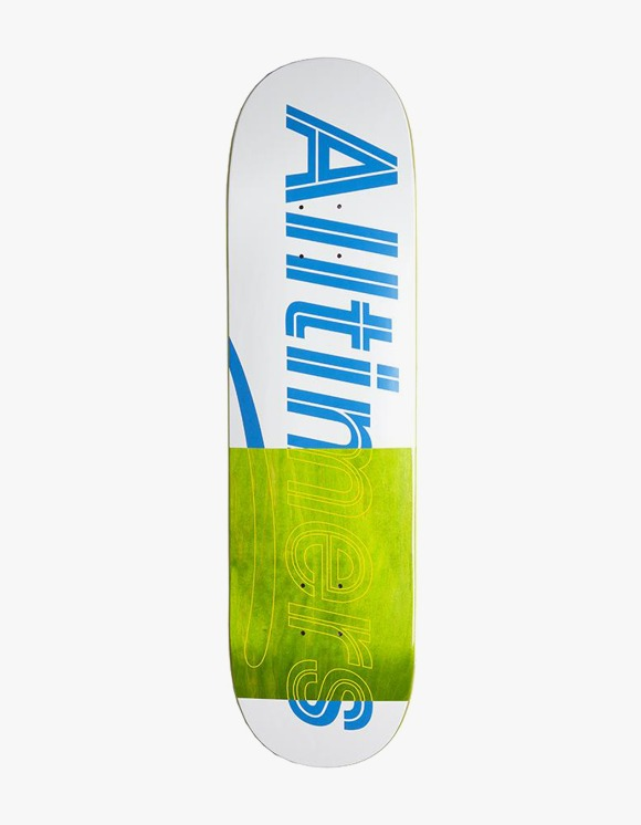 Alltimers Trace Logo Board White 8.25"