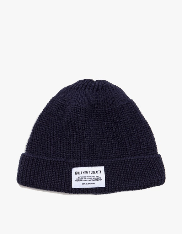 IZOLA NYC NYC Beanie - Black | HEIGHTS. | International Store