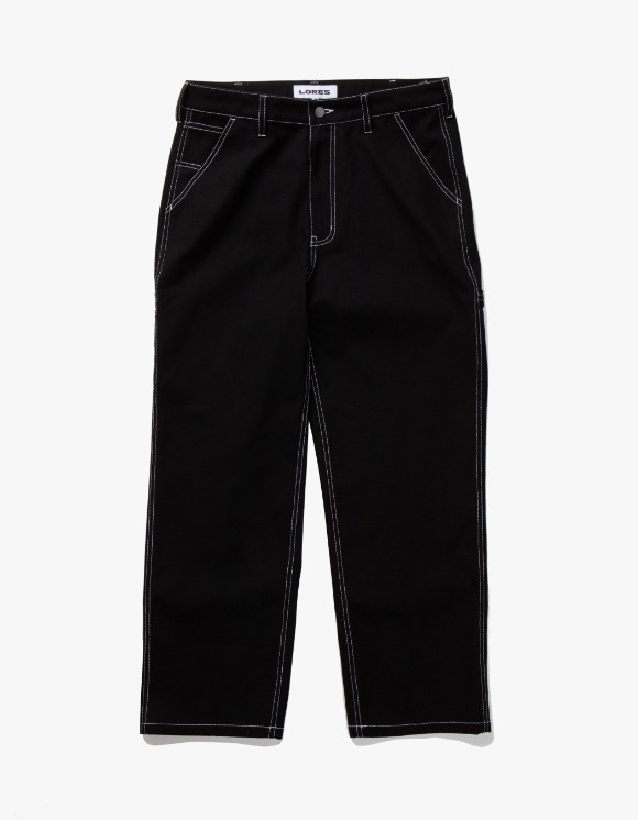 Lores Canvas Painters Pants - Black | HEIGHTS. | International Store