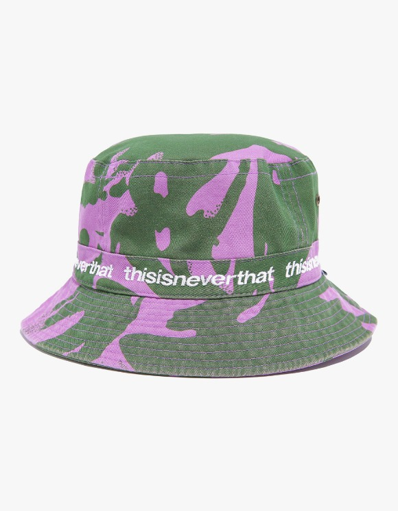 thisisneverthat SP Bucket Hat - Purple Camo | HEIGHTS. | International Store