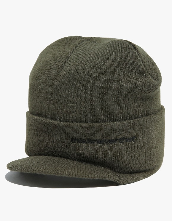 thisisneverthat Beanie Visor Cap - Olive | HEIGHTS. | International Store