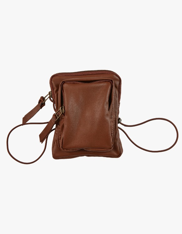KIJUN Pleather Mini Bag - Brown | HEIGHTS. | International Store