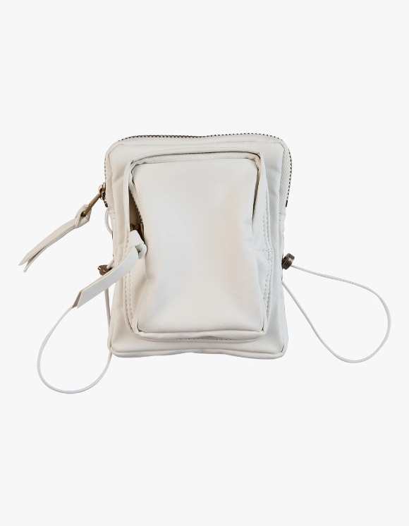 KIJUN Pleather Mini Bag - White | HEIGHTS. | International Store