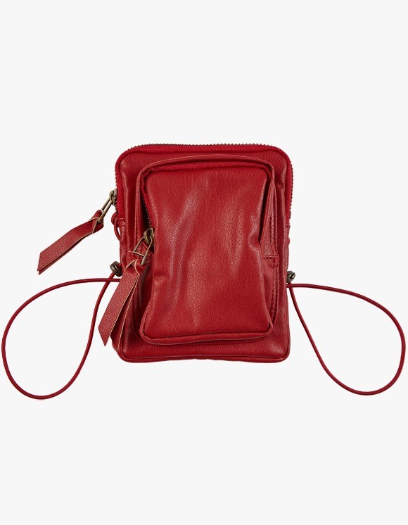 KIJUN Pleather Mini Bag - Red | HEIGHTS. | International Store