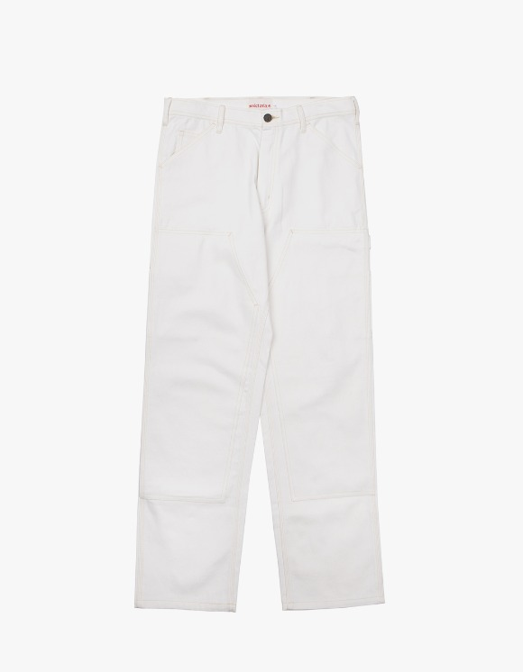 Victoria Hong Kong Double Knee Pants - White | HEIGHTS. | International Store