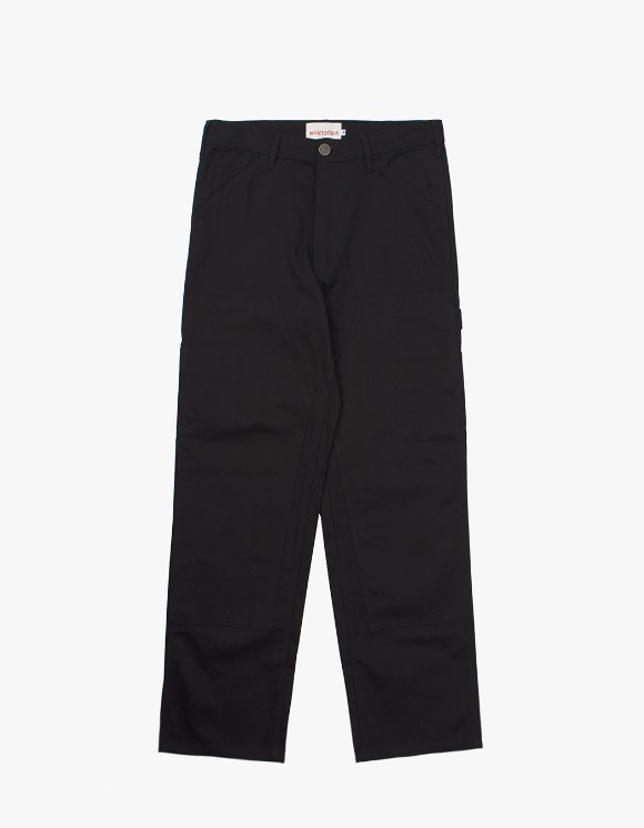 Victoria Hong Kong Double Knee Pants - Black | HEIGHTS. | International Store