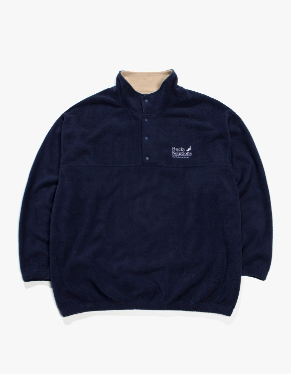 Beasts And Natives Alike Bucky Fleece - Navy | HEIGHTS. | International Store