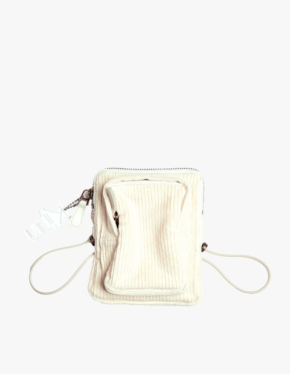 KIJUN Corduroy Mini Bag - Cream | HEIGHTS. | International Store