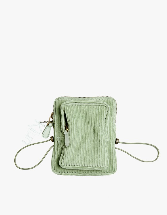 KIJUN Corduroy Mini Bag - Mint | HEIGHTS. | International Store