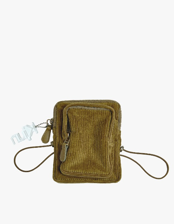 KIJUN Corduroy Mini Bag - Olive | HEIGHTS. | International Store