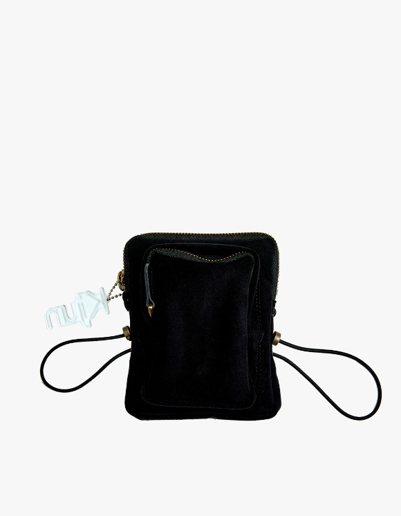 KIJUN Suede Mini Bag - Black | HEIGHTS. | International Store