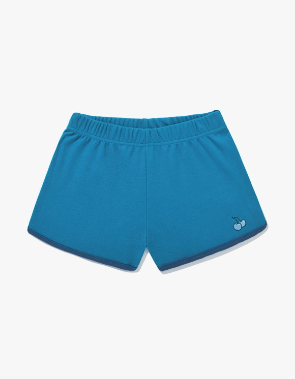 KIRSH Tone On Tone Cherry Short Pants JS - Blue | HEIGHTS. | International Store