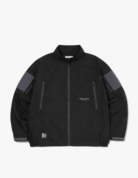 thisisneverthat PCU Jacket - Black | HEIGHTS. | International Store