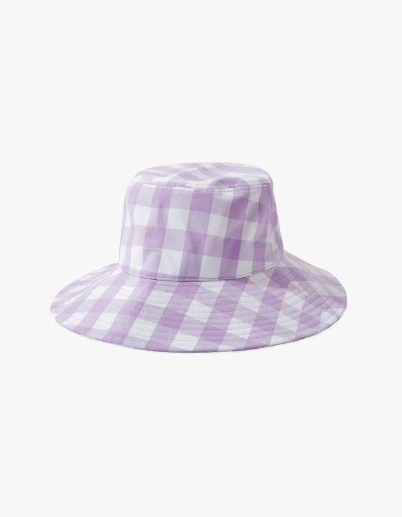 KANCO KANCO CHECK BUCKET HAT lavender | HEIGHTS. | International Store