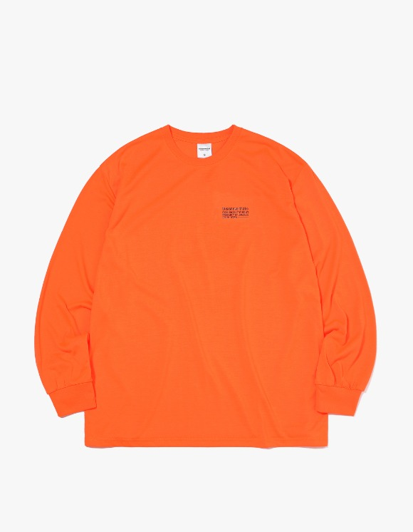 thisisneverthat STWK L/SL Top - Neon Orange | HEIGHTS. | International Store