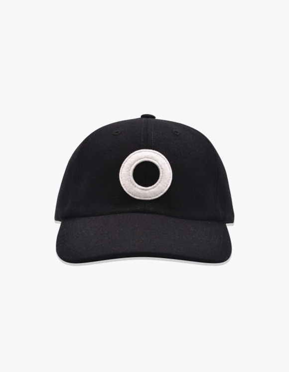 Pop Trading Company Pop O Sixpanel Baseball Hat - Black | HEIGHTS. | International Store