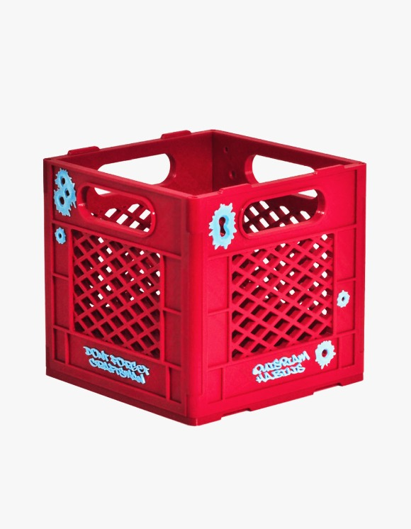 "Quispiam Habilis Bullet Marks 7"" Crate - Red 